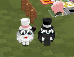 Mrs & Mr Penguin