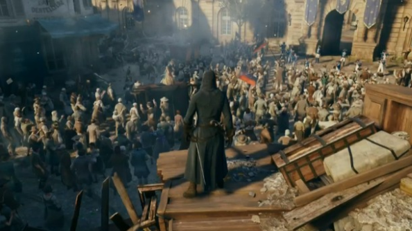 assassin's creed unity patch bugs framerate crowd size ubisoft alsdn